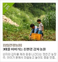 3대를 이어가는 친환경 농사를 고집하는 청일관광농원