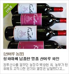 청와대에 납품하는 명품 산머루와인 생산농가 김천 산머루농장
